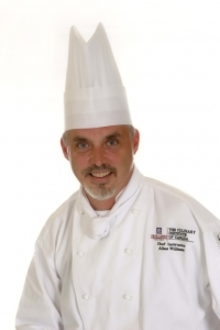 Chef Allan Williams, Research and Development Chef in Canada's Smartest Kitchen, the research arm of The Culinary Institute of Canada, and recipient of the Atlantic Chef of the Year award.