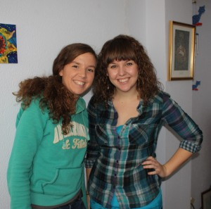 Sisters Karyn and Kady Brown
