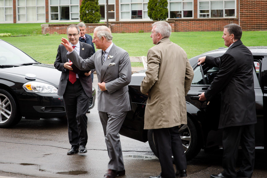 Pictures from our royal visit (2/6)
