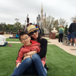 Fei and her son William
